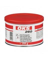 OKS 260 Pasta de montaj alba