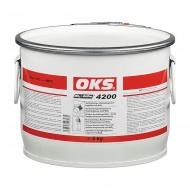OKS 4200 Vaselina sintetica de temperaturi inalte pentru lagare cu MoS2
