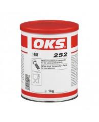 OKS 252 Pasta alba pentru temperaturi inalte, pentru tehnologia alimentara