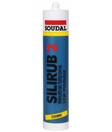 Soudal - Silirub 2 Silicon neutru