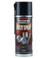 Soudal - Spray Multi 8*1 400 ml